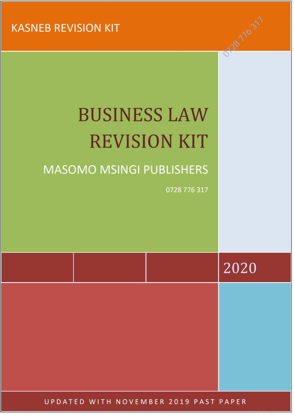 Business law Revision Kit