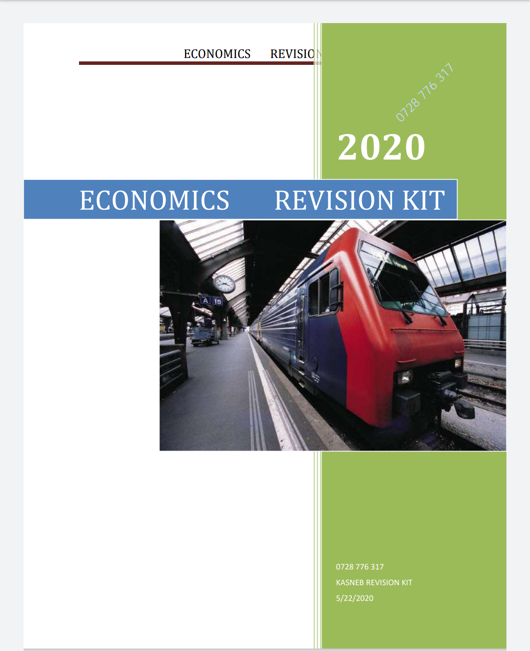 COMMERCIAL LAW REVISION KIT