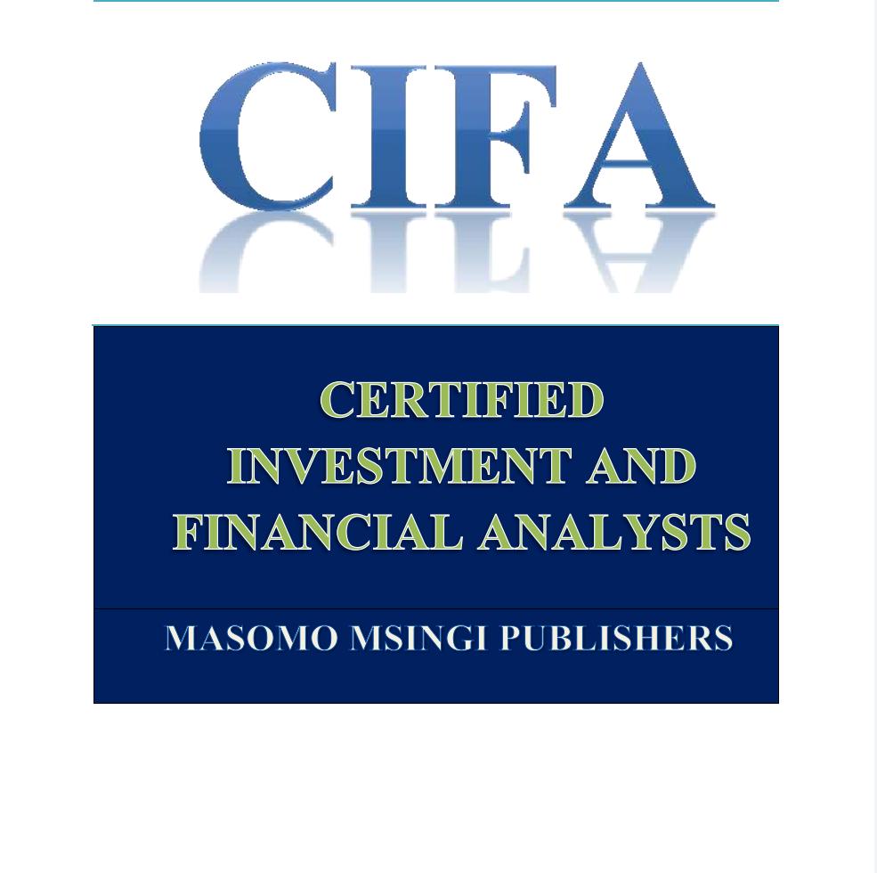 CIFA STUDY NOTES